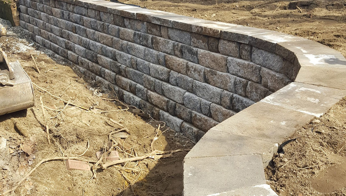 Westford, MA Retaining Wall