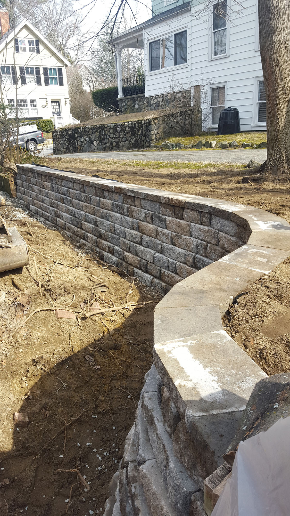 Westford, MA Retaining Wall